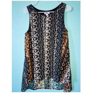 Cato black top shirt size L 🐯